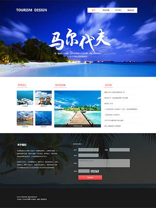 旅游网站建设 制作旅游网站 餐饮、酒店、旅游服务网站制作