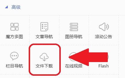 企业网站公示板块