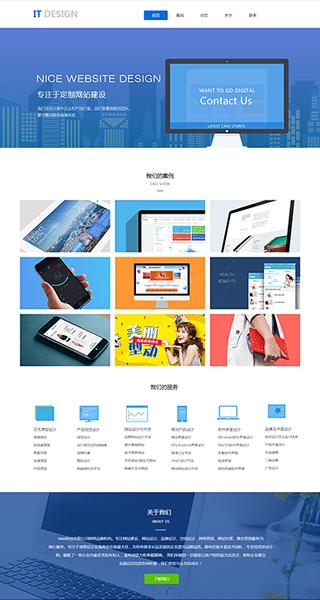 IT网站建设 制作IT网站 IT、软件、互联网网站设计