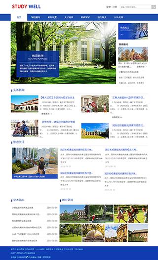 学校网站建设 制作学校网站 教育、政府、机构组织网站制作