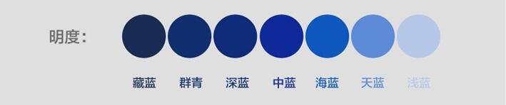 网页设计色彩明度