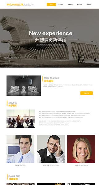 展览设计网站建设 制作展览设计网站 广告、文化、设计服务网站制作