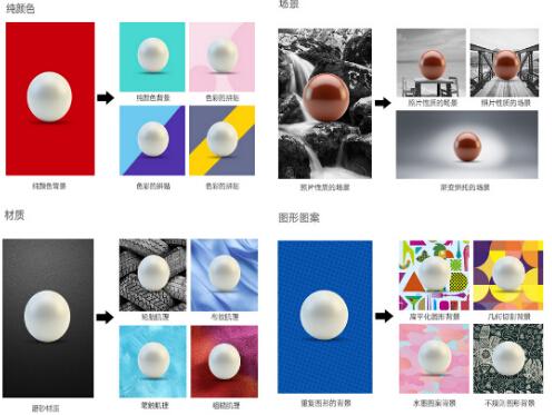 微传单背景色分类