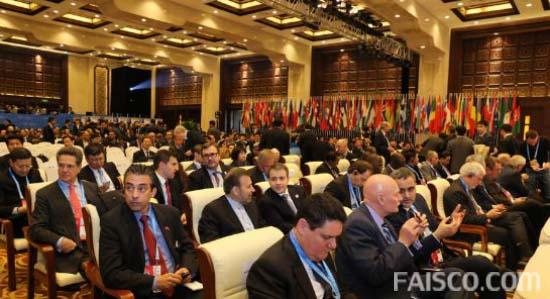 各国嘉宾认真聆听世界互联网大会开幕式