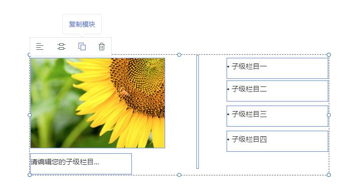 容器或区域内圈选模块可批量复制
