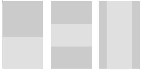H5页面直线型排版