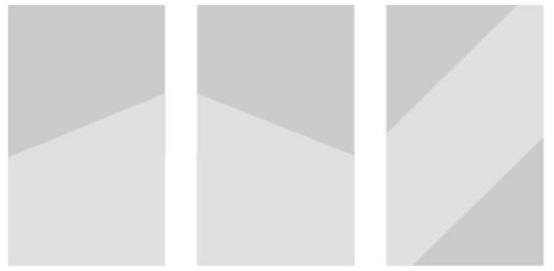 H5页面斜线型排版