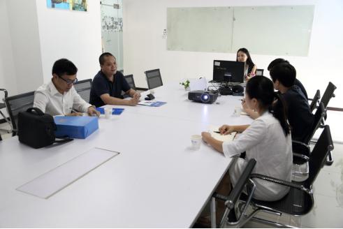 梁秘书询问凡科未来5年的发展构想
