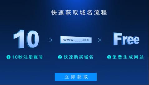 凡科建站为用户提供免费域名注册