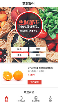 生鲜电商-未来生鲜超市配送