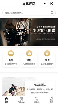 文化传媒公司_影视文化传媒公司商城小程序模板