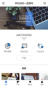 数据处理_产品交互_定制迁移公司官网手机网站模板