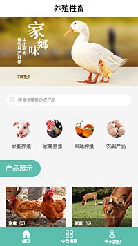 家畜-家禽家畜企业小程序模板