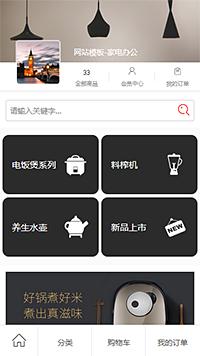 消毒柜_微波炉_电饭锅批发厂家网购微信网店模板