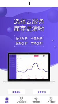广州互联网金融公司-互联网金融公司小程序模板