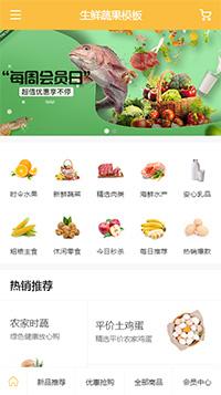 香蕉_橘子_干果微商代购微信网店网站模板